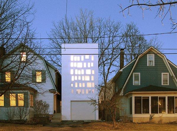 Haffenden House - Small House - Para Project - Syracuse NY - Exterior - Humble Homes