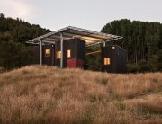 Longbush Ecosanctuary Welcome Shelter - Sarosh Mulla Design - New Zealand - Exterior - Humble Homes