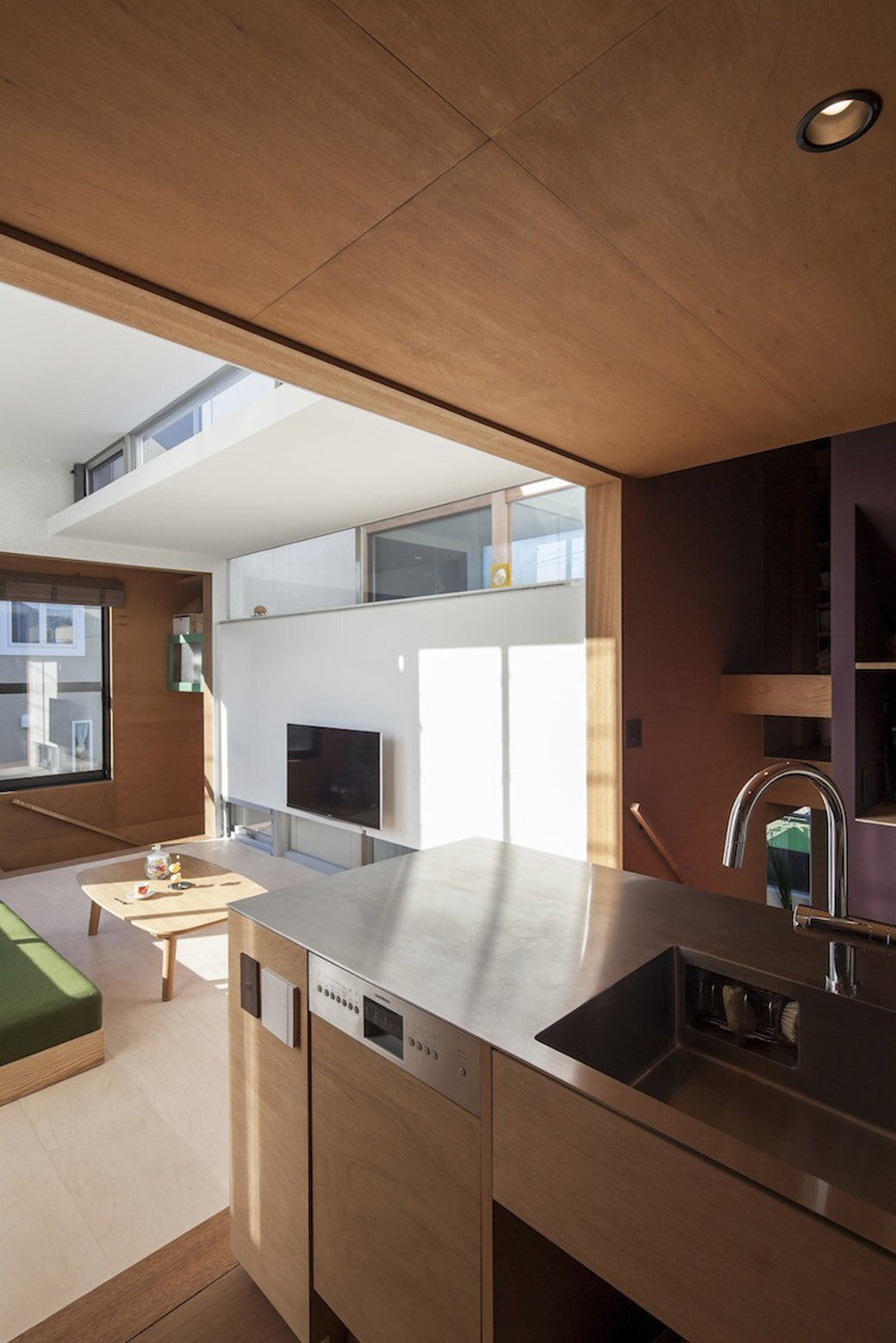 SEPA - Small House -S Shintaro Matsushita + Takashi Suzuk - Japan - Kitchen - Humble Homes