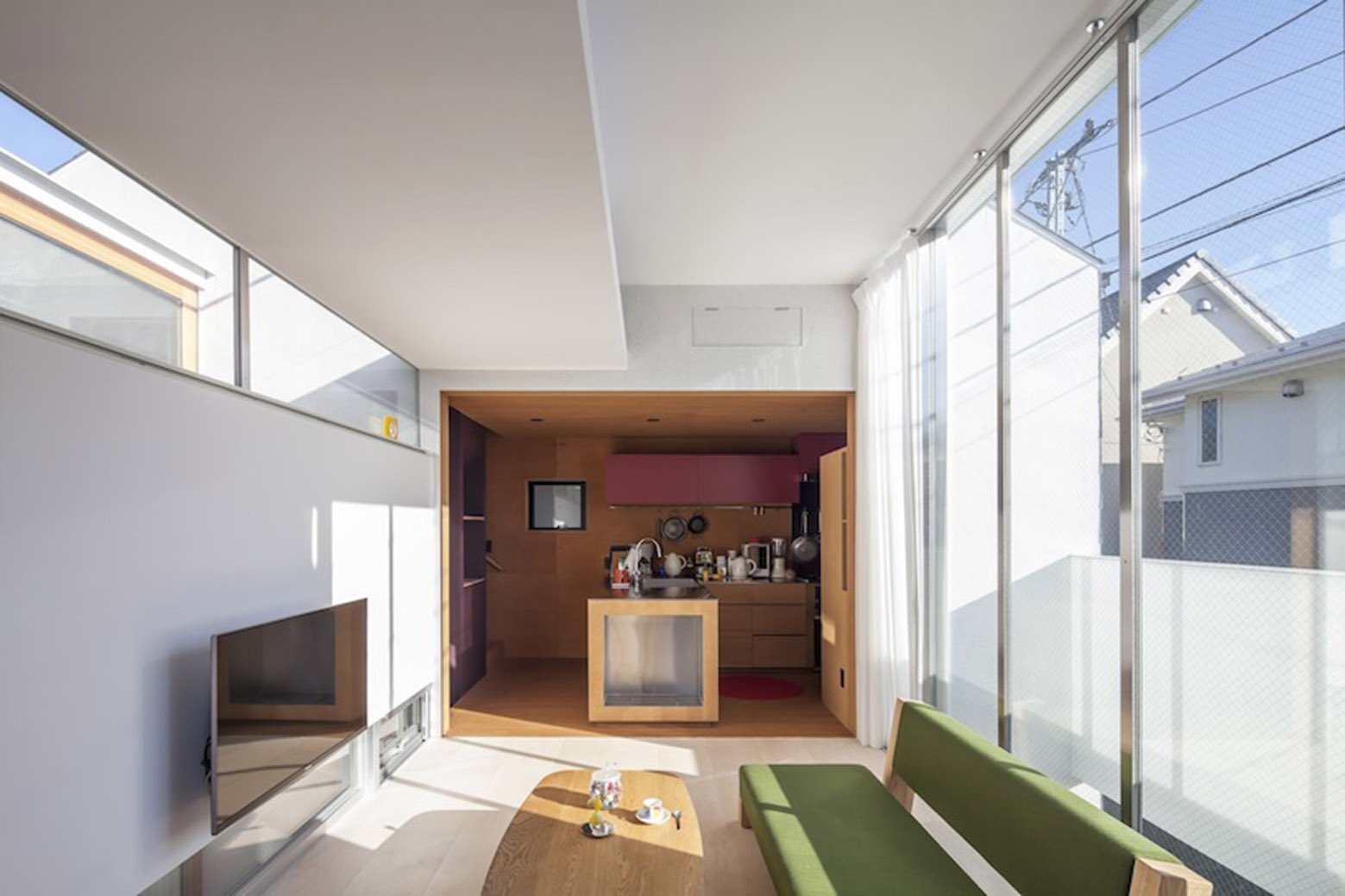 sepa small house s shintaro matsushita takashi suzuk japan living room - Small House Living