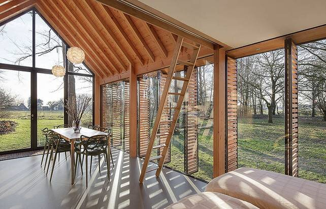 Small House - Zecc Architecture - Roel van Norel - The Netherlands - Window Views - Humble Homes