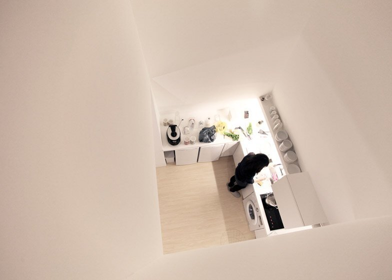 The White Cone House - Small Apartments - Apparat-C - Seoul - Kitchen 2 - Humble Homes