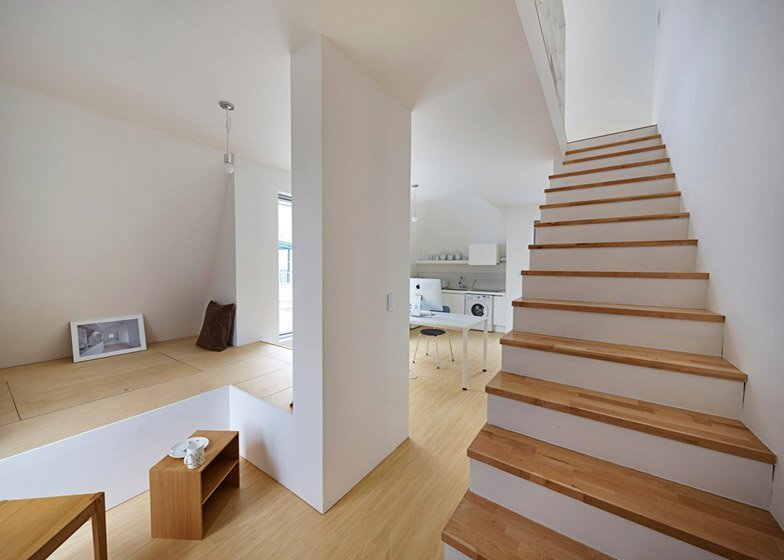 The White Cone House - Small Apartments - Apparat-C - Seoul - Living Room - Humble Homes