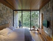 Writer's Retreat - Tiny Retreat - Architectare - Brazil - Bedroom Glazing - Humble Homes