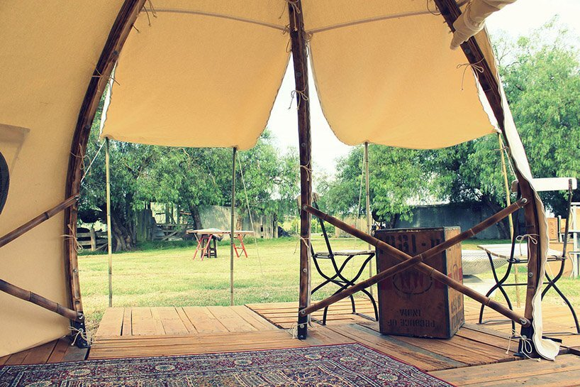 Froute Pod - Glamping - Giant Grass - Australia - Interior - Humble Homes