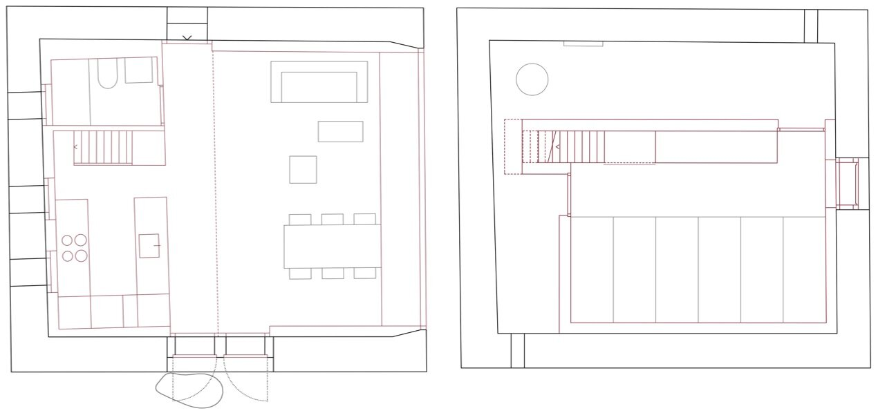 Gaudin House - Small Cabin - Savioz Fabrizzi Architectes - Switzerland - Floor Plans - Humble Homes