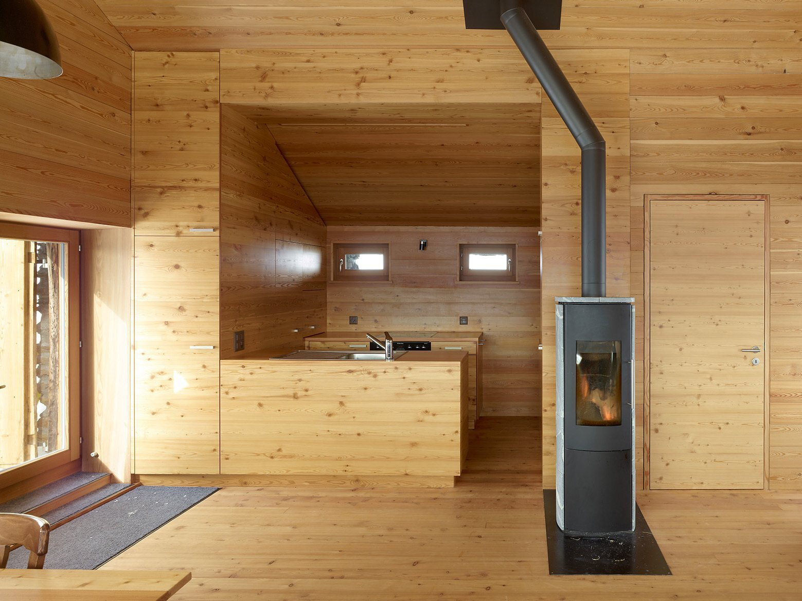 Gaudin House Barn Transformed Into A Small Cabin In The