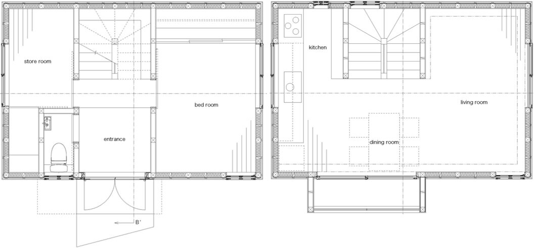 Japanese small house plans home design and style for Japanese house floor plan design
