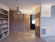Home Renovation - Small Apartment - Julien Joly Architecture - Paris - Timber Slat Partitions - Humble Homes