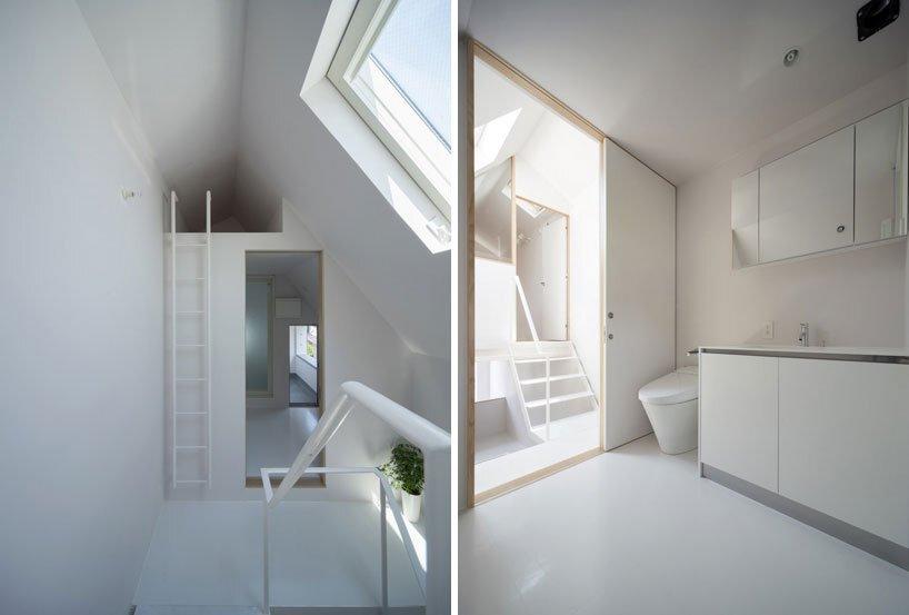 Minamisensoku House - Small House - Kobayashi 401 - Tokyo - Bathroom - Humble Homes