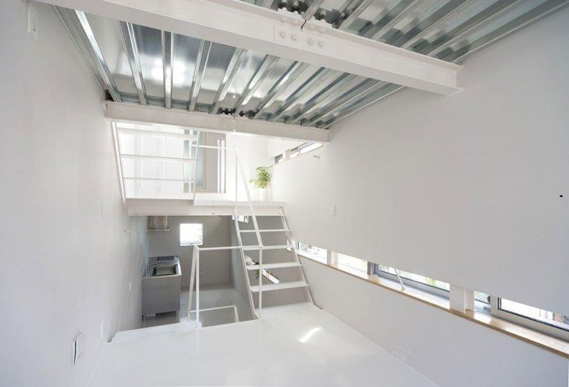 Minamisensoku House - Small House - Kobayashi 401 - Tokyo - Split Levels - Humble Homes