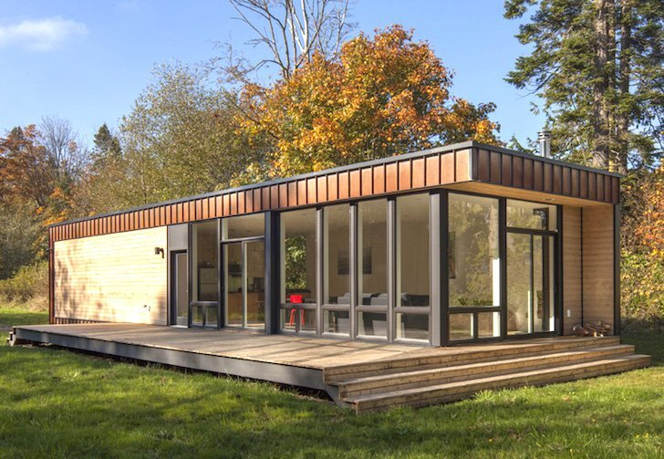 The Element 1 A Small Prefab House By Method Homes