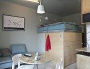 Small Apartment - Utopia Studio - Warsaw - Sleeping Unit - Humble Homes