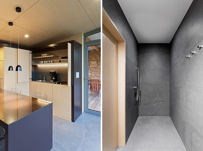 Small Cottage - Toth Project Architecture Office - Hungary - Kitchen and Bath - Humble Homes
