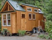 Tiny House - Kerry Alexander - Hope Island Cottages - Washington - Exterior - Humble Homes