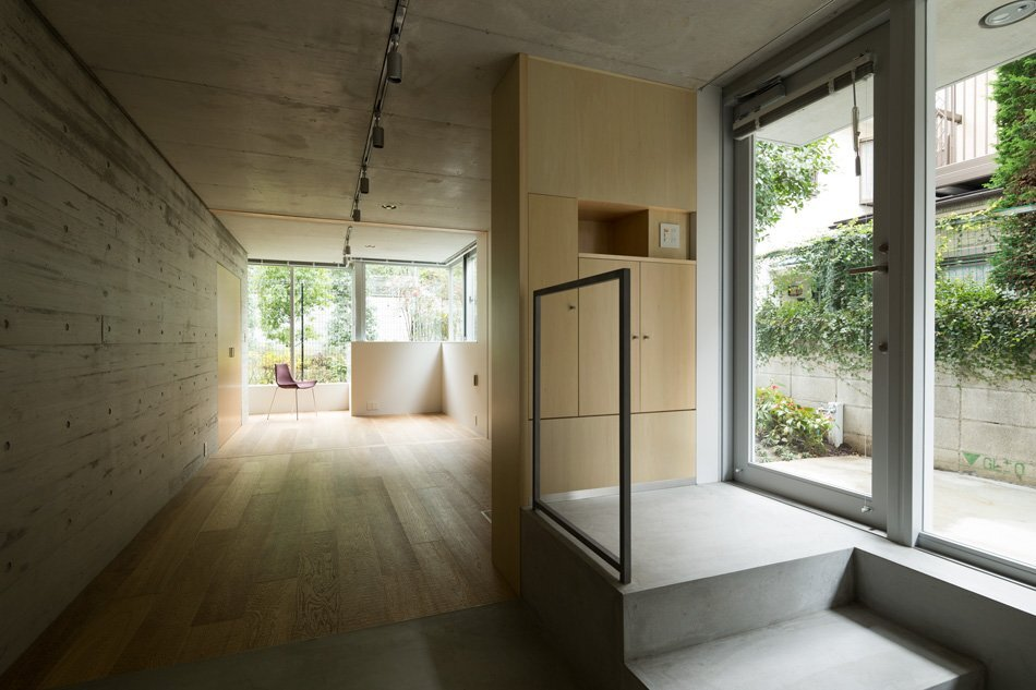 Apartment in Nishiazabu - SALHAUS - Small Apartments - Japan - Living Area - Humble Homes