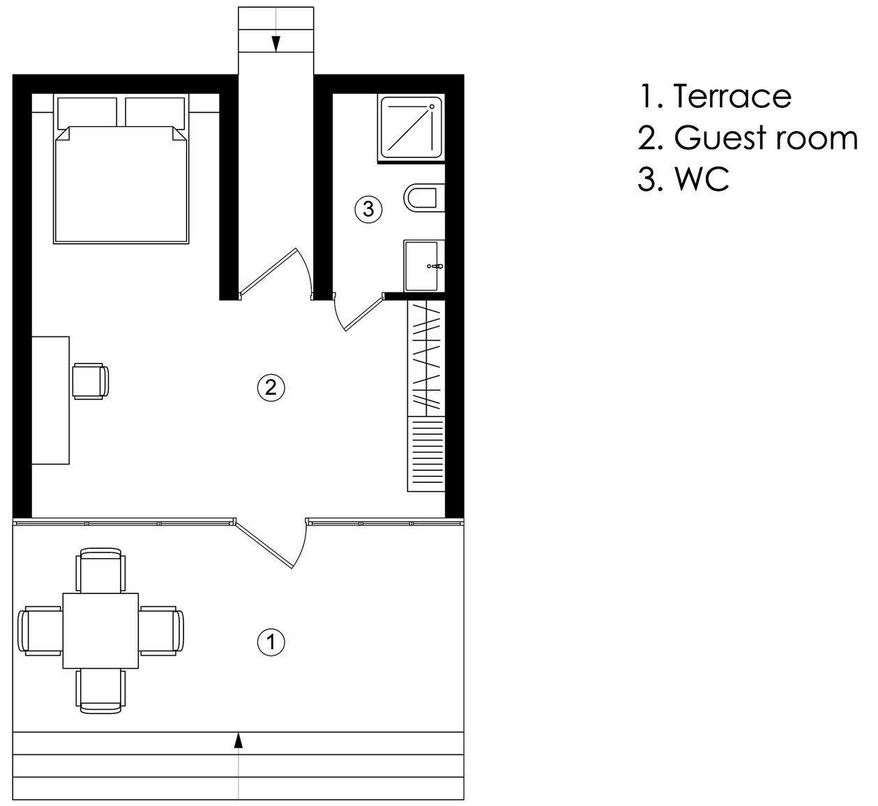 Guest Houses - Relax Park Verholy - YOD Dеsign Lab - Ukraine - Floor Plan - Humble Homes