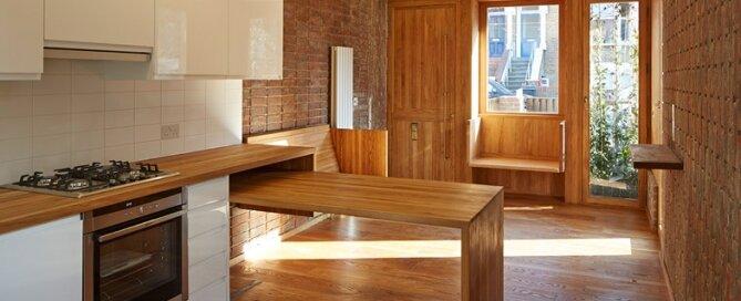 Haringey Brick House - Satish Jassal Architects - London - Living Area - Humble Homes