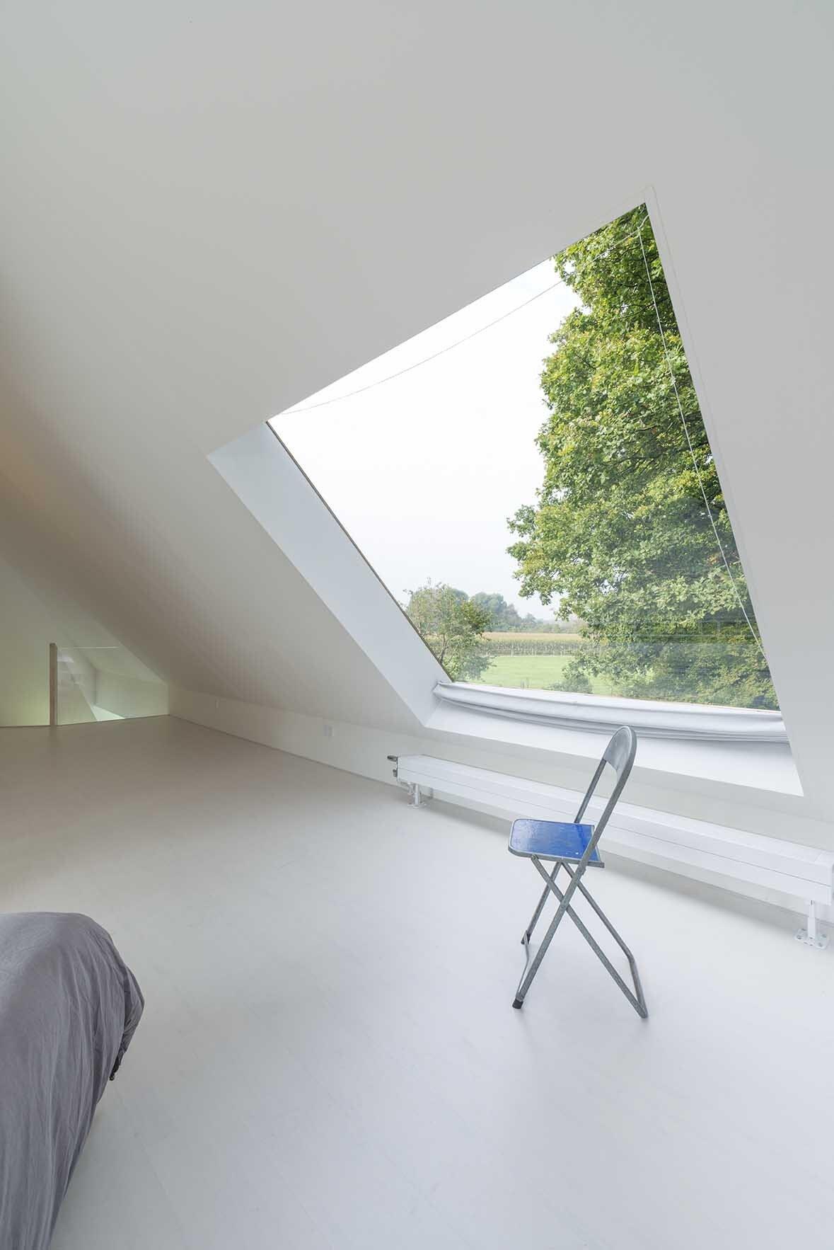 House in Almen - Barend Koolhaas - The Netherlands - Bedroom Skylight - Humble Homes
