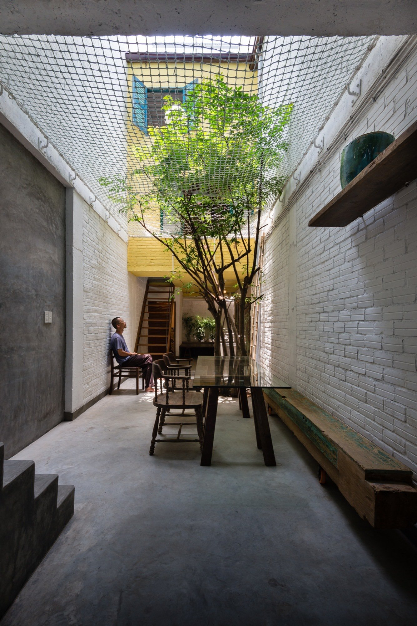Saigon House - Small House - a21studio - Vietnam - Living Area - Humble Homes