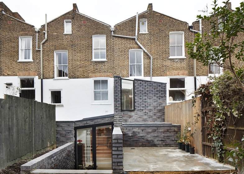 The Brick House - Fraher Architects - London - Exterior Rear - Humble Homes