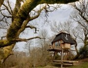 Tiny Hut on Stilts - Nozomi Nakabayashi - Dorset England - Exterior Front - Humble Homes