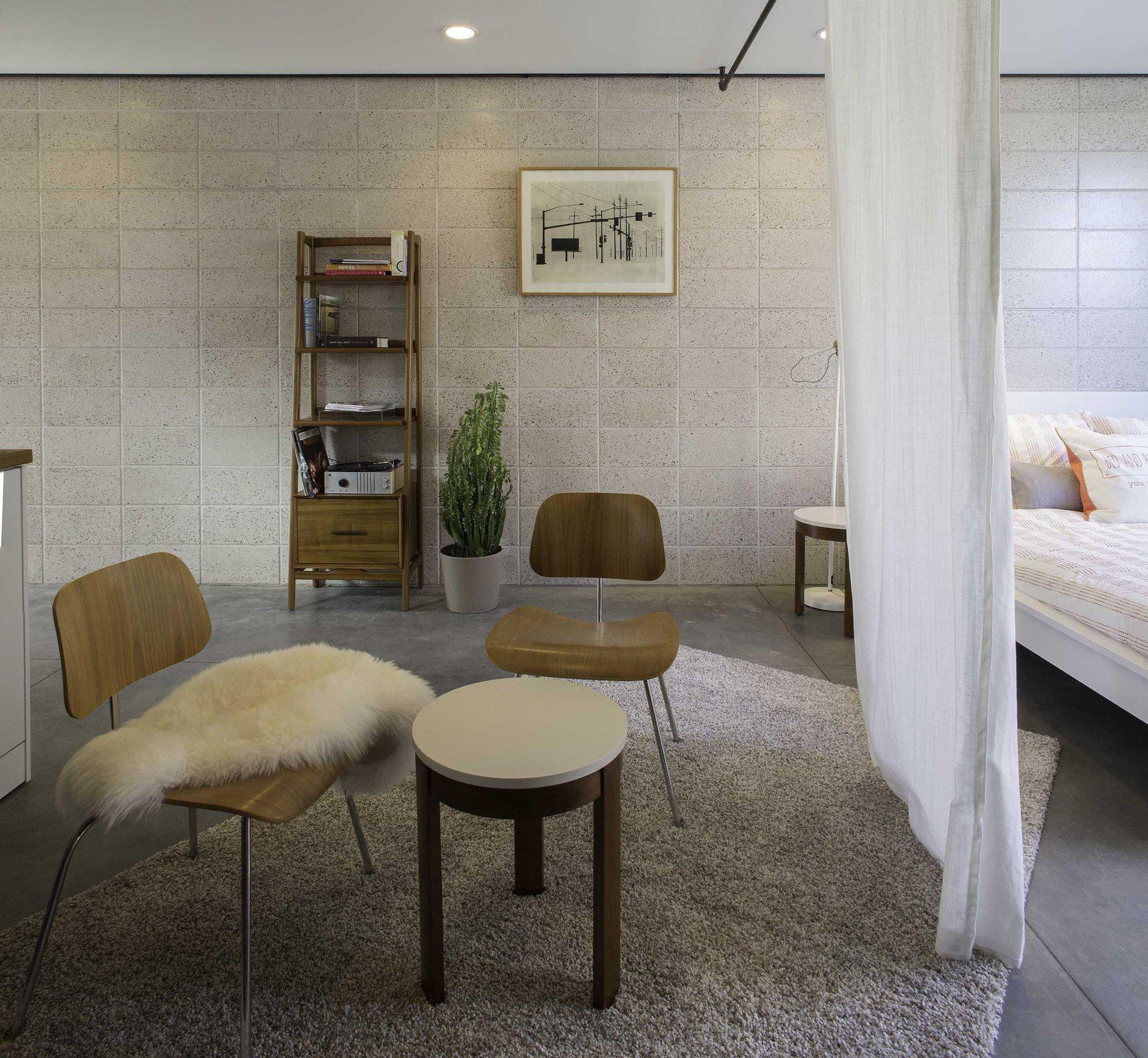 White Stone Studios - Tiny House - Benjamin Hall Design - Arizona - Living Area - Humble Homes
