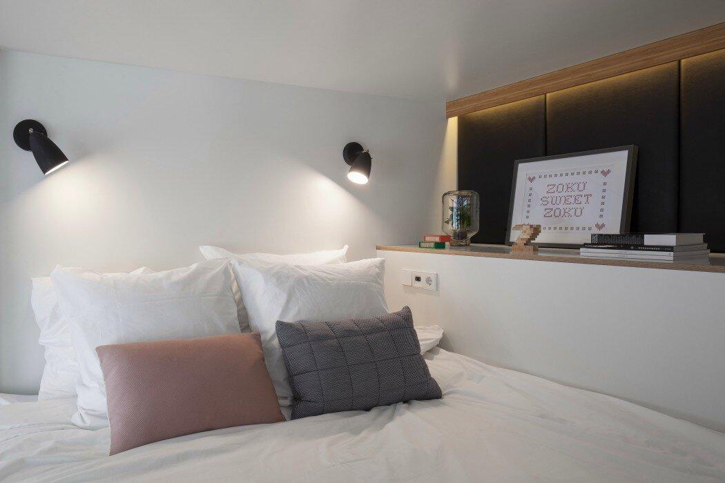 Zoku Loft - Concrete - Amsterdamn - Bedroom - Humble Homes