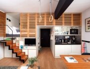 Zoku Loft - Concrete - Amsterdamn - Staircase Pulled Out - Humble Homes