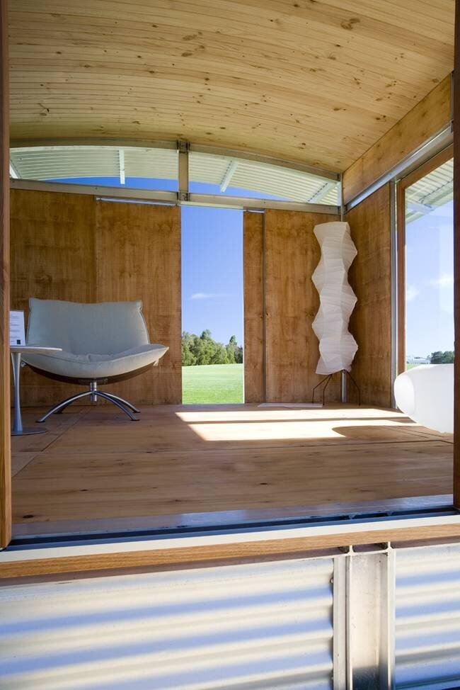 Ecoshelta -  Stephen Sainsbury - Australia - Interior 1 - Humble Homes