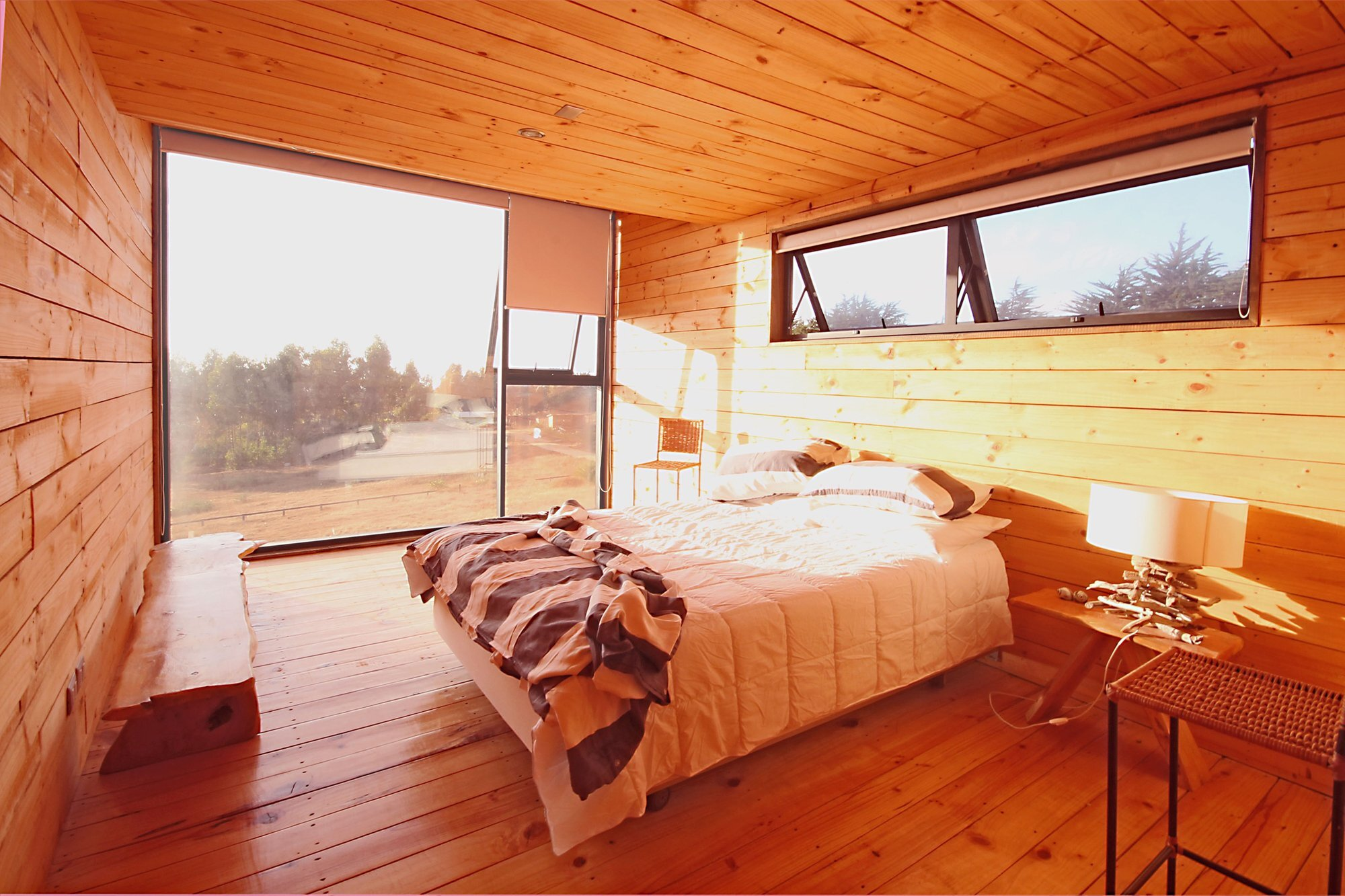 H House - PAARQ Arquitectos - Chile - Bedroom - Humble Homes