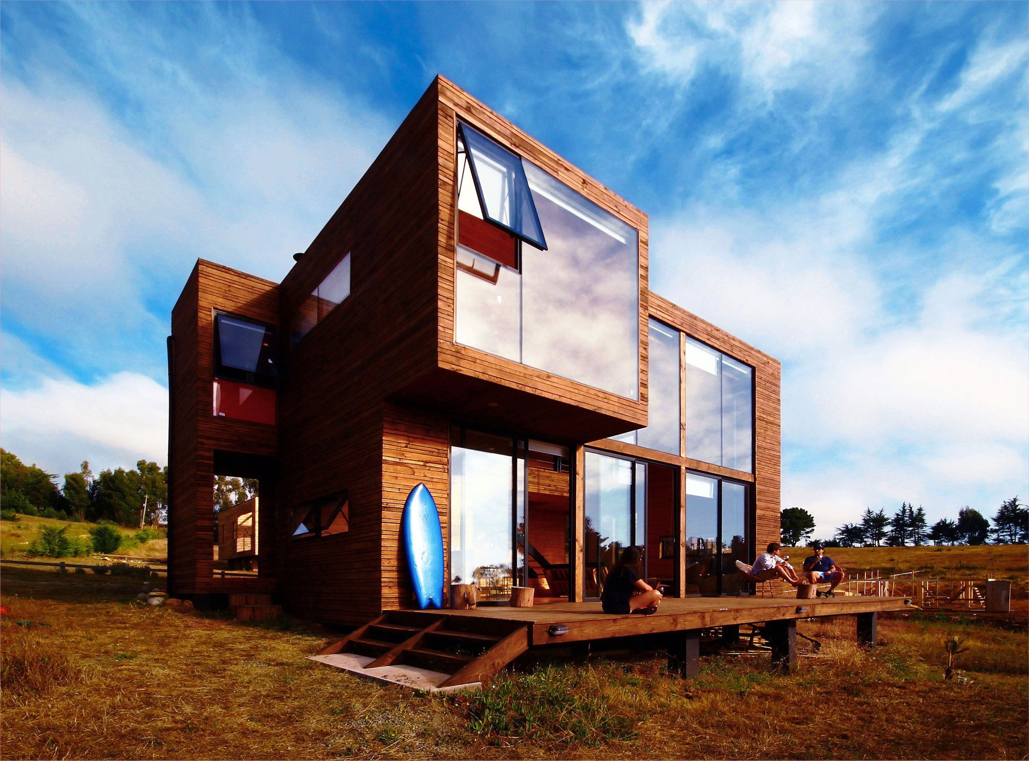 H House - PAARQ Arquitectos - Chile - Exterior - Humble Homes