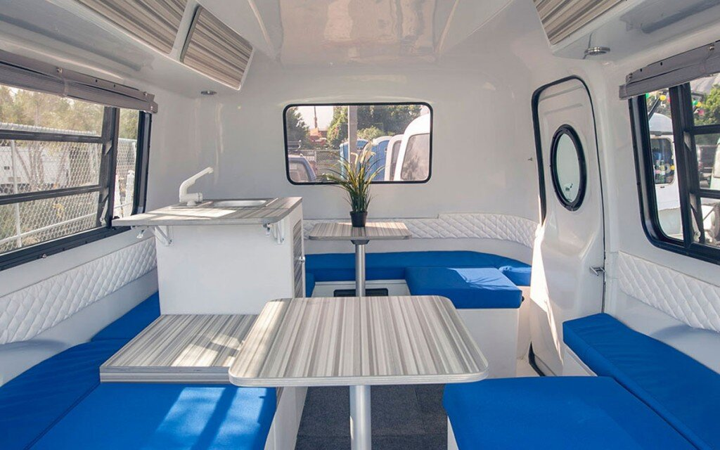 Happier Camper - Tiny Camper - California - Kitchenette - Humble Homes