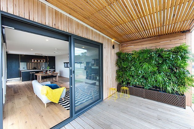 Modular House - Ecoliv - Australia - Exterior Deck - Humble Homes