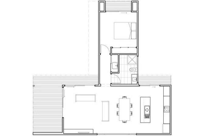 Modular House - Ecoliv - Australia - Floor Plan - Humble Homes