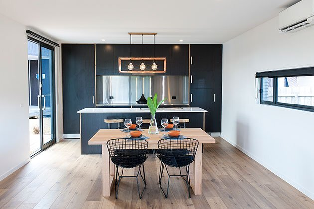 Modular House - Ecoliv - Australia - Kitchen Dining - Humble Homes
