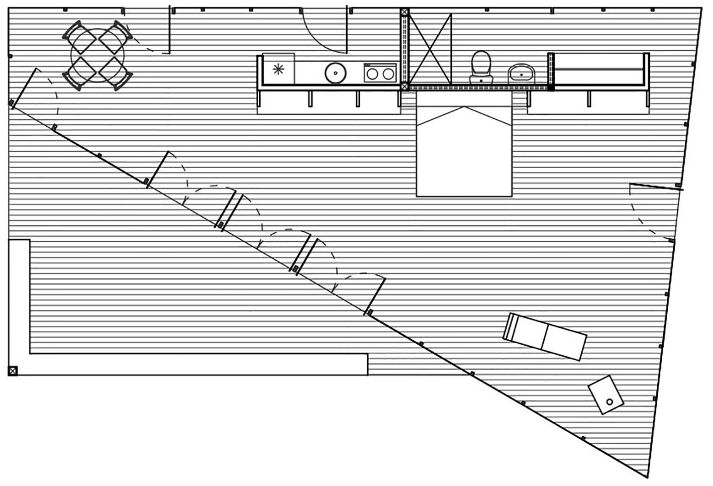 Pigeon Loft - Schmidt Arquitectos Asociados - Chile - Floor Plan - Humble Homes