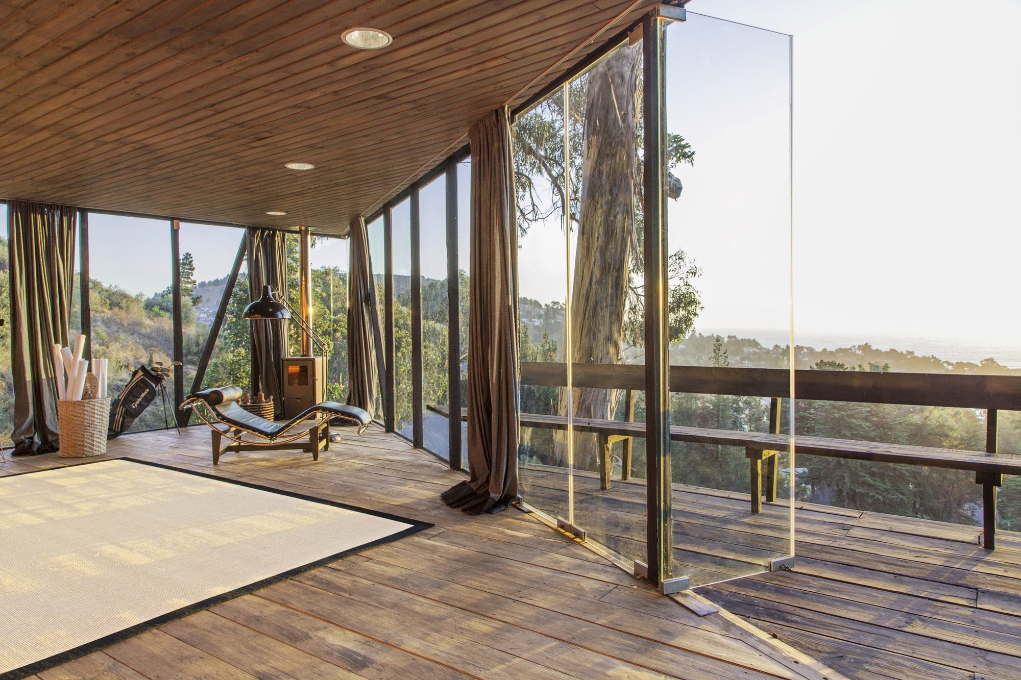 Pigeon Loft - Schmidt Arquitectos Asociados - Chile - View from Windows - Humble Homes