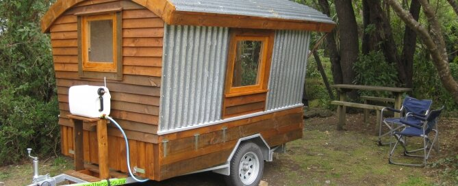 Polly - Micro House - New Zealand - Exterior - Humble Homes