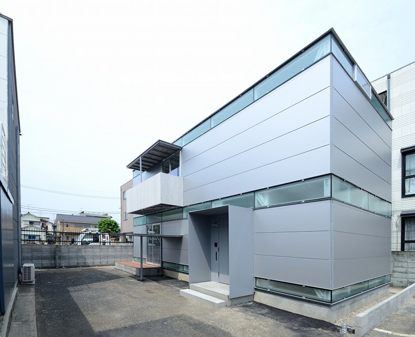 prefab steel house niji architects tokyo exterior humble homes