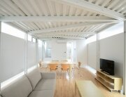 Prefab Steel House - Niji Architects - Tokyo - Living Area - Humble Homes