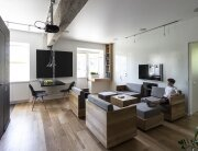 Small Apartment - Bagritsky - Ruetemple - Moscow - Living Area - Humble Homes