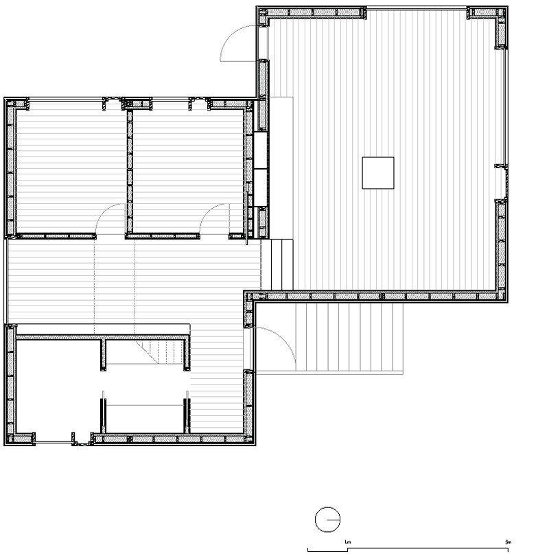 Small Cabin - Kolman Boye Architects - Vega Norway - Floor Plan - Humble Homes