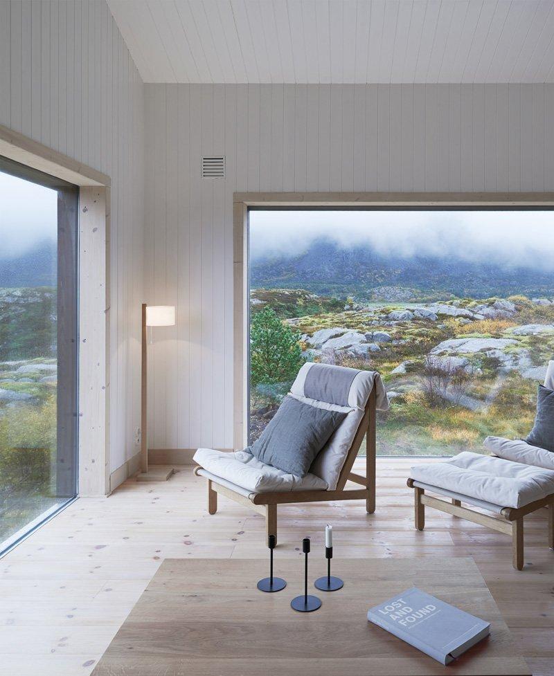 Small Cabin - Kolman Boye Architects - Vega Norway - Living Area 2 - Humble Homes
