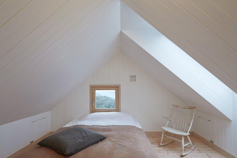 Small Cabin - Kolman Boye Architects - Vega Norway - Sleeping Loft - Humble Homes