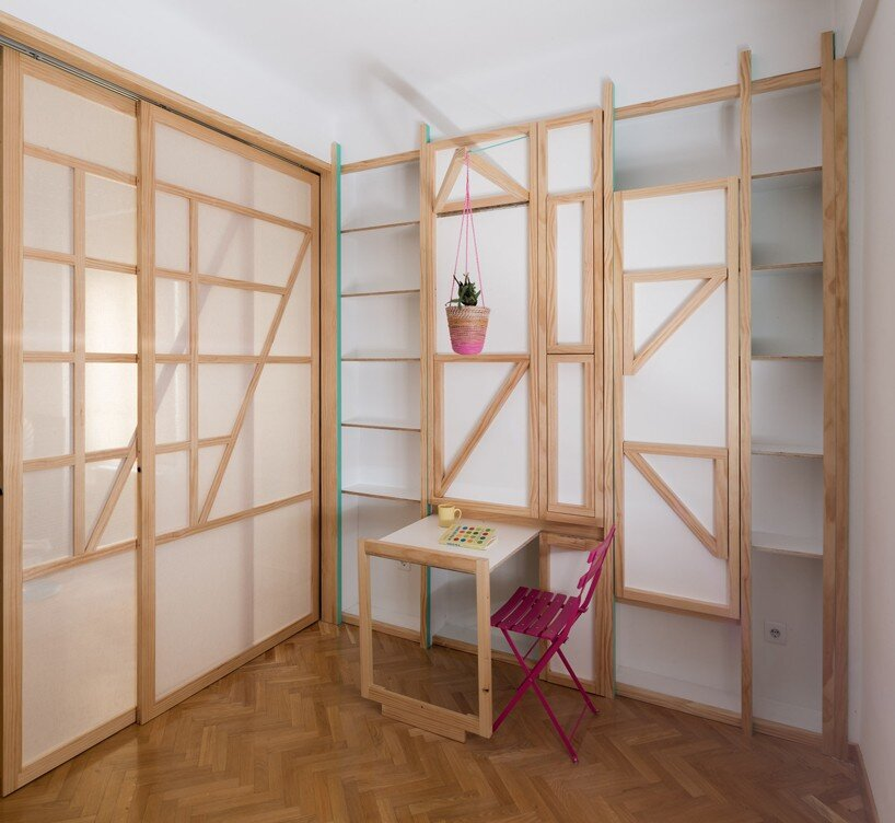 Susaloon - Tiny Apartment - Elii Architecture - Madrid - Desk - Humble Homes