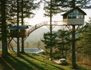 The Cinder Cone - Foster Huntington - Washington - Treehouses Exterior - Humble Homes