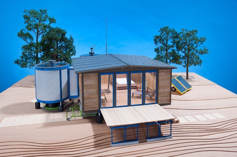 The Demountable House - Richard Rogers - Jean Prouvé - Model Exterior - Humble Homes