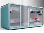 The Sleeping Pod - CannonDesign Yazdani Studio - Utah University - Pod 1 - Humble Homes