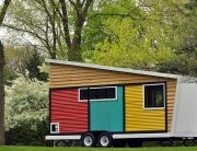 Tiny House - Toybox Tiny House - Frank Henderson and Paul Schultz - Illinois - Exterior - Humble Homes